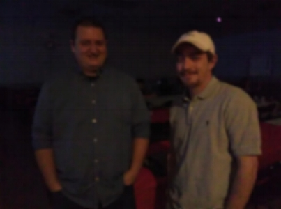 Real Local Music caught up with Nathan Crone of Flatliner, at the Hilltop Auction house before their performance at the 8th annual Borderline Toys For Tots charity event. sorry for blurry image.
