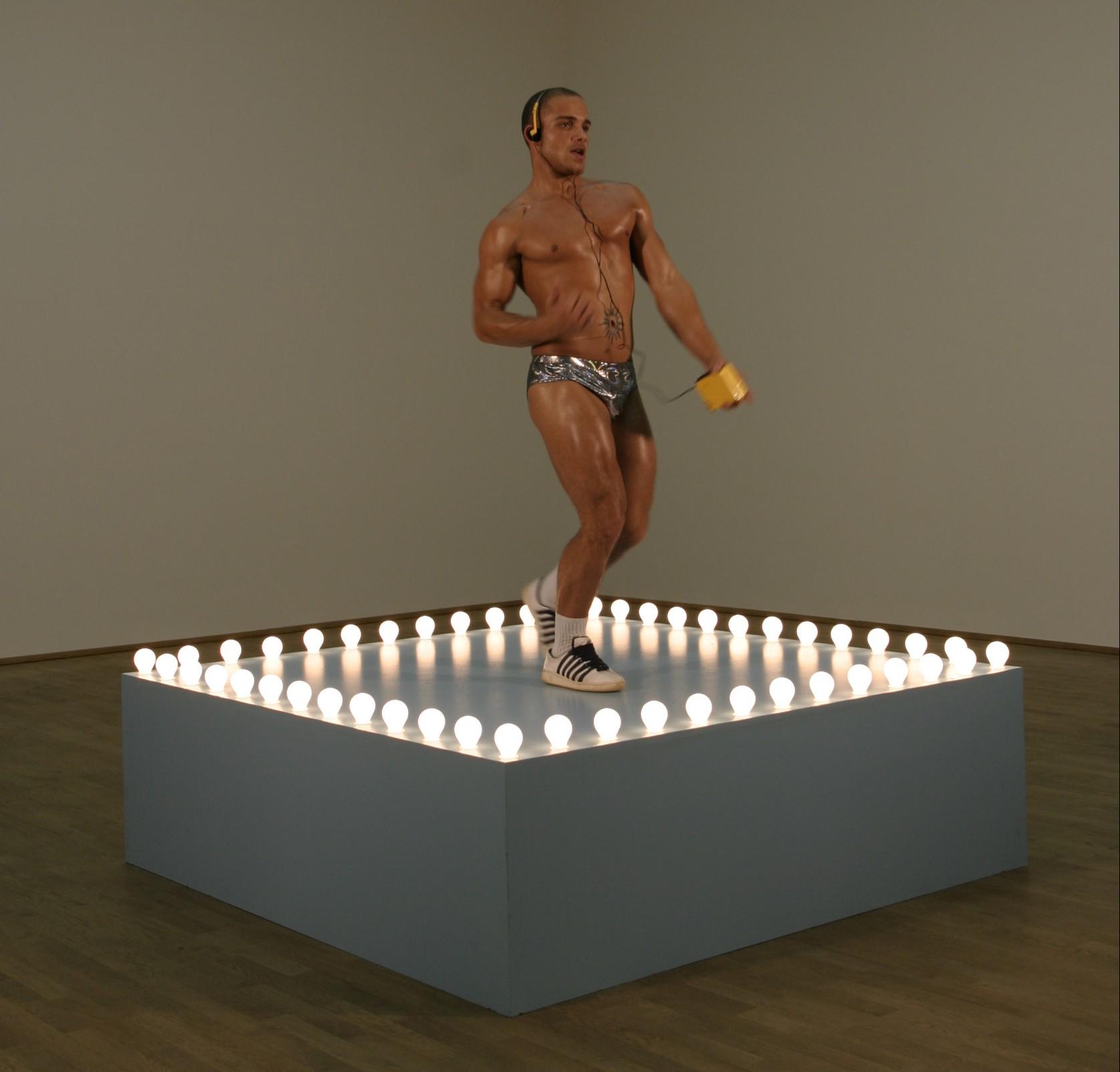 Felix Gonzalez-Torres Go-Go Dancer