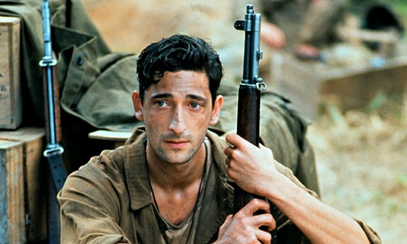 Severely cut: Brody in Terrence Malick's The Thin Red Line.