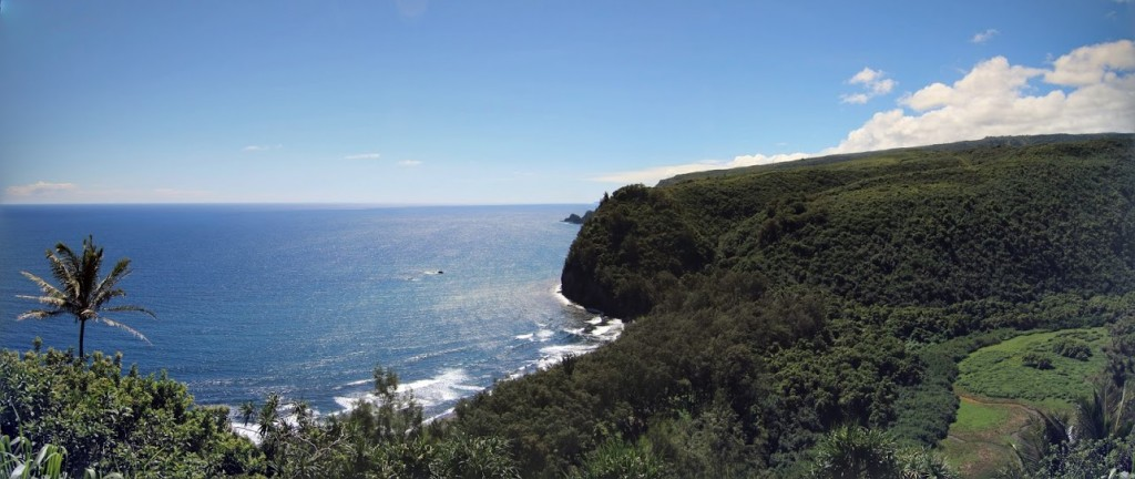 Pololu Valley Lookout Big Island Hawaii Kohala Coast