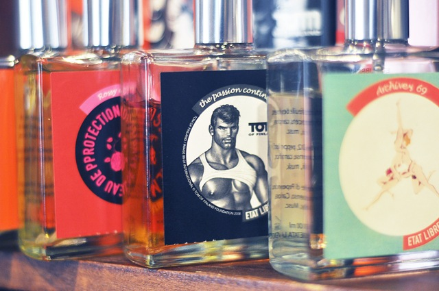 tom of finland perfume sweaty sex smell