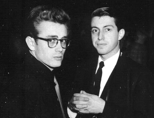 James Dean and William Bast