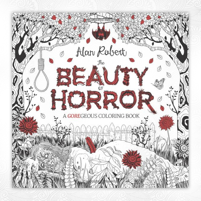 The Beauty Of Horror Coloring Book Mbti Gifts