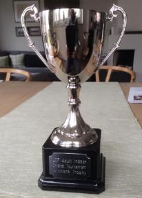 The LCF Indoor Tournament Trophy