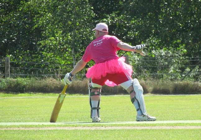 Cricket in Pink has become a colourful annual event!