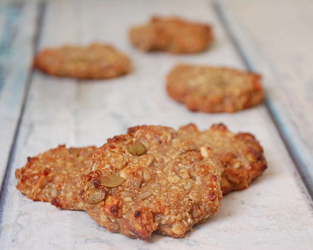 Easy Oat and Banana No Sugar Biscuits