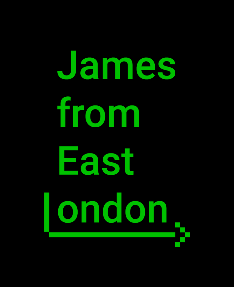 James from East London