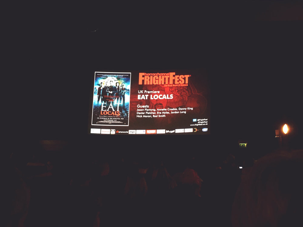 Eat Locals' FrightFest Premiere
