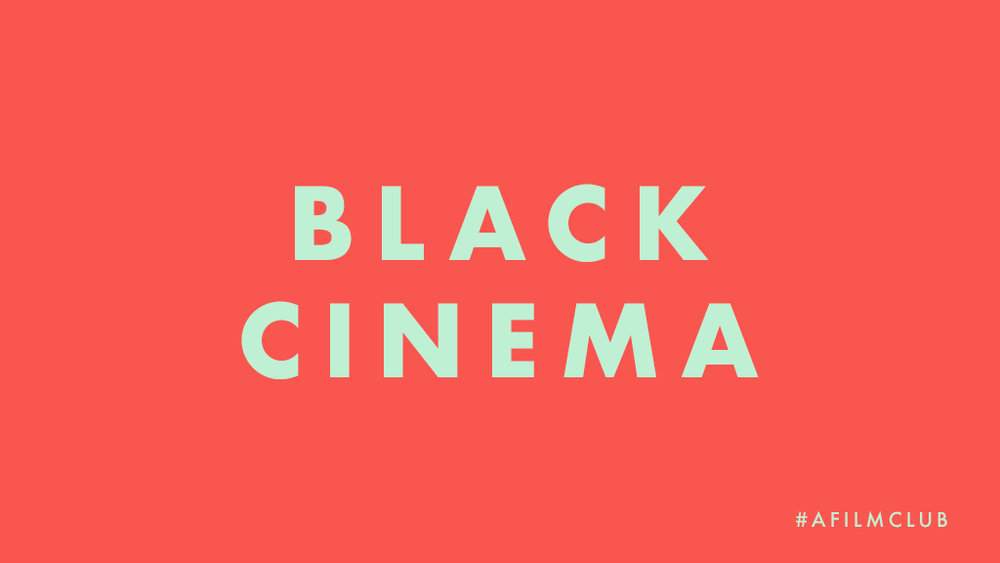 Black Cinema
