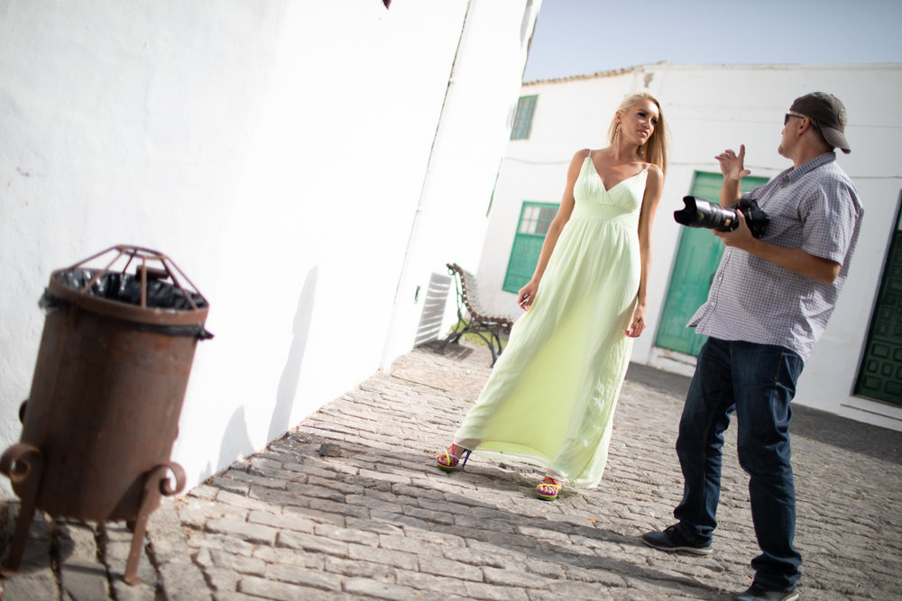 Behind the Scene am Fashion- & NudeArt Workshop in Teguise [Lanzarote] - Septemer 2018Foto: Thomas Gosteli