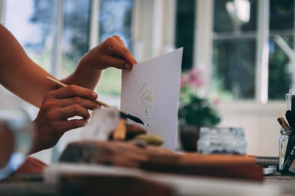 Lushuset väcker kreativiteten. Kim Lindström ©