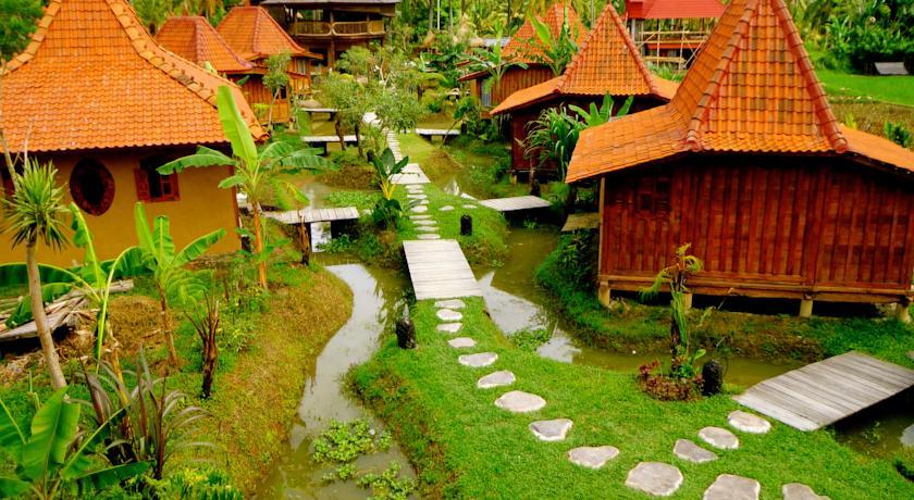Dragonfly Village - som en liten by :)