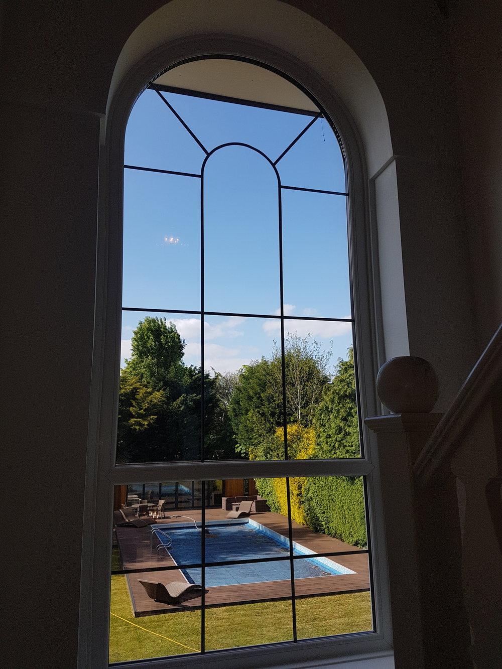 OUR unique pvcu bespoke arch window