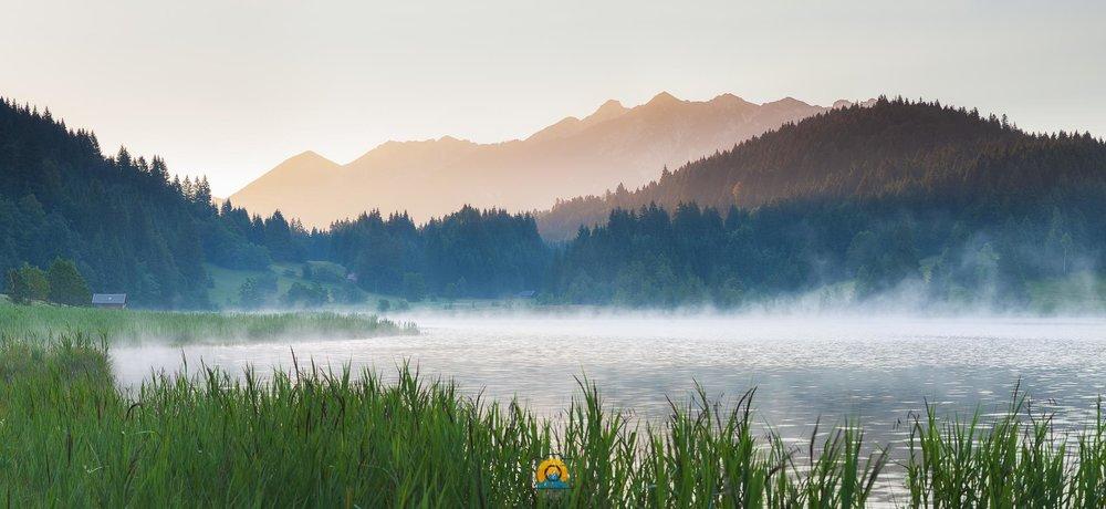 Morgennebel am Geroldsee