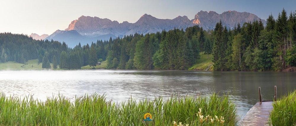 Ein neuer Tag am Geroldsee