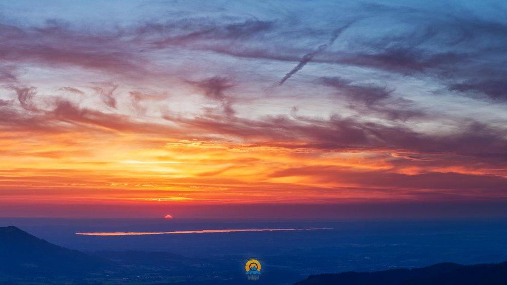 Starnberger See im letzten Licht