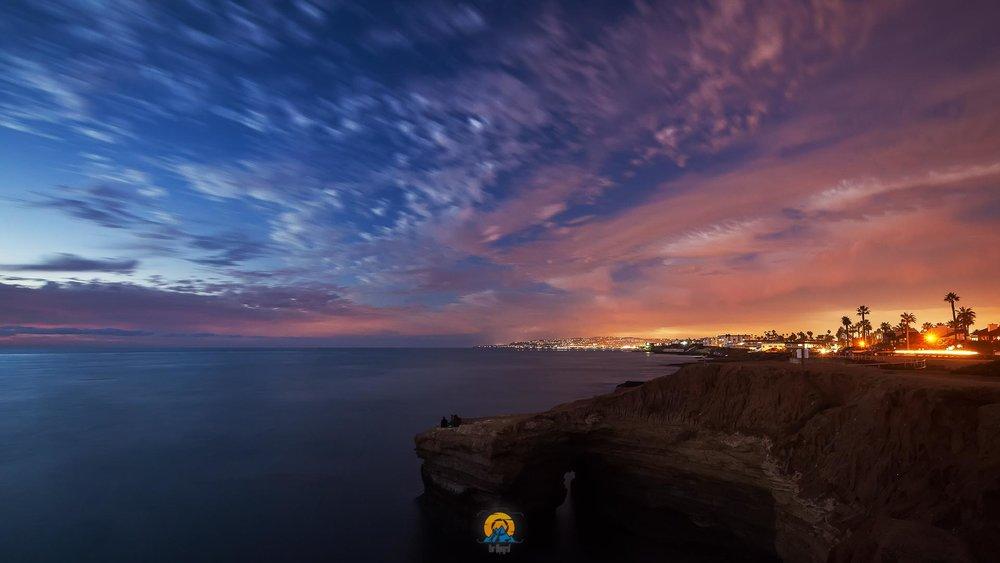 San Diego bei Nacht