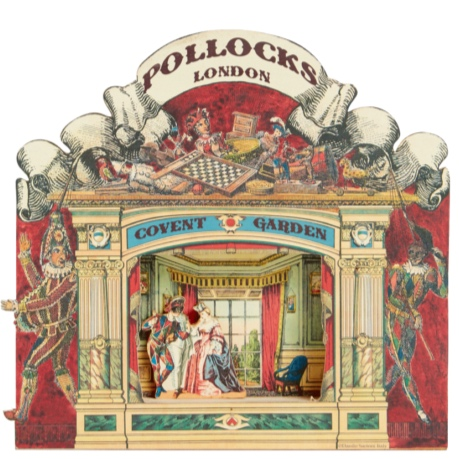 Pollock's famous toy shop in Covent Garden