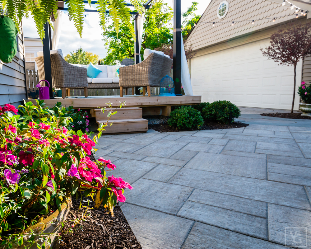 Garden design in West Bloomfield, MI, Metro Detroit