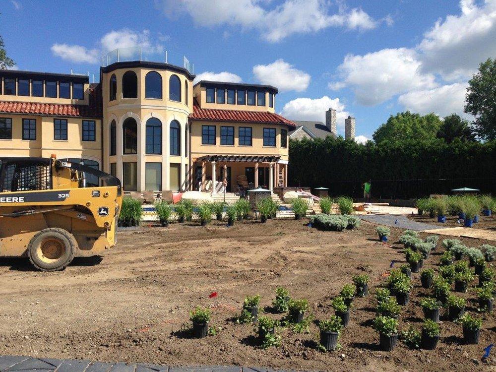 Yard landscaping ideas in Grosse Pointe, MI, Metro Detroit