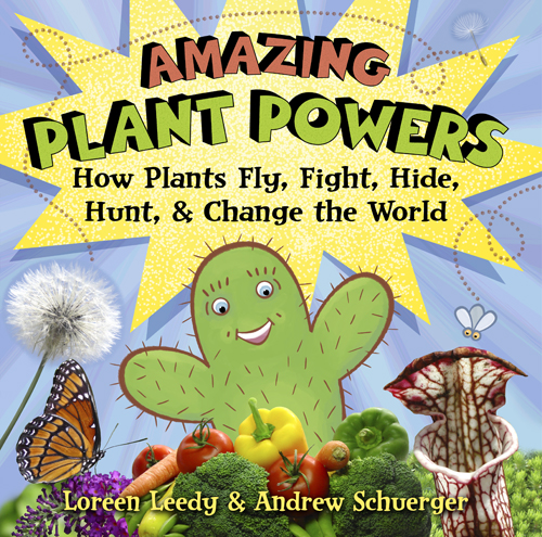 Click cover image to download FREE printables to go with  Amazing Plant Powers!
