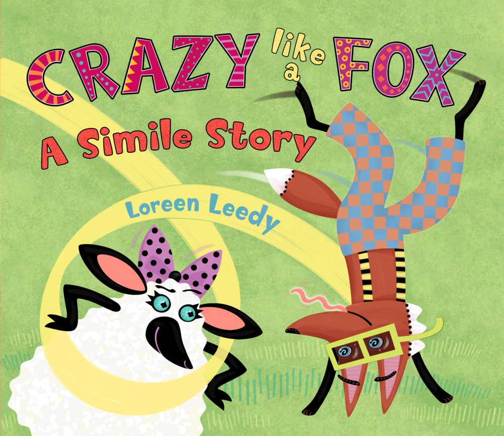 Click cover image for a FREE presentation to use with  Crazy Like a Fox: A Simile Story!