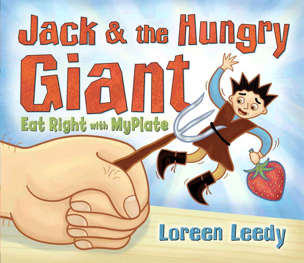 Click the cover image to download FREE printable pages to use with  Jack & the Hungry Giant!