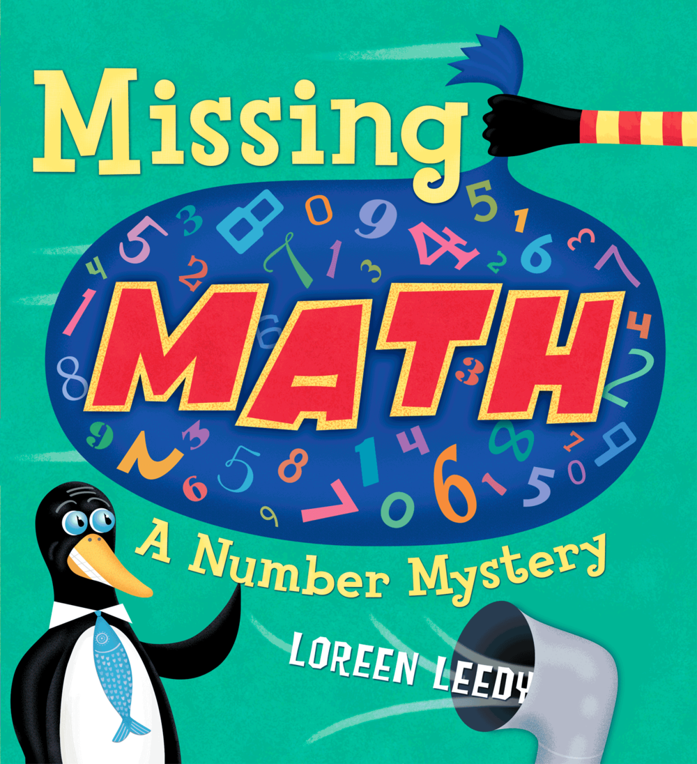 Click cover image for a FREE printable to use with  Missing Math: A Number Mystery!