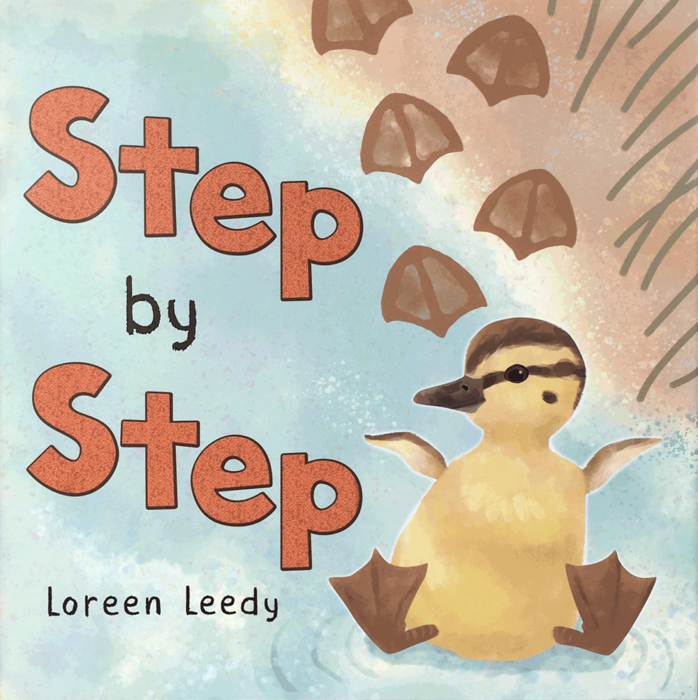 Click book cover image to download FREE printables to go with  Step by Step