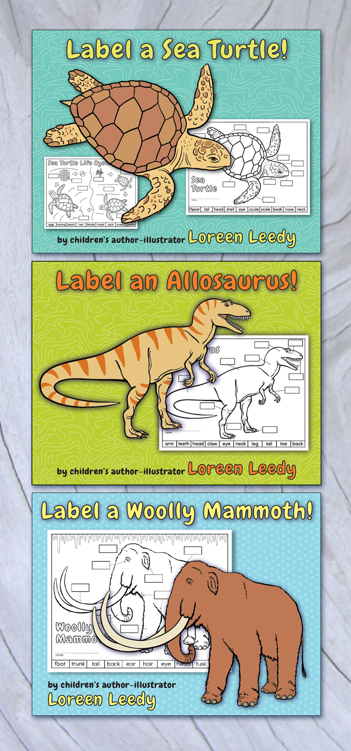 Labeling activities give students practice with diagrams. Click image to view my animal activities with realistic artwork.