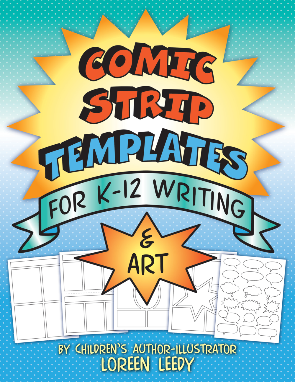 Kids love comics and making their own is a fabulous way to create enthusiasm for writing. The 40+ printable pages provide options to use all year long.