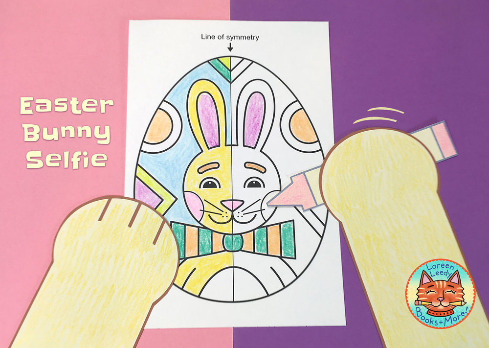 Click image to preview Easter eggs with symmetry in my TPT shop