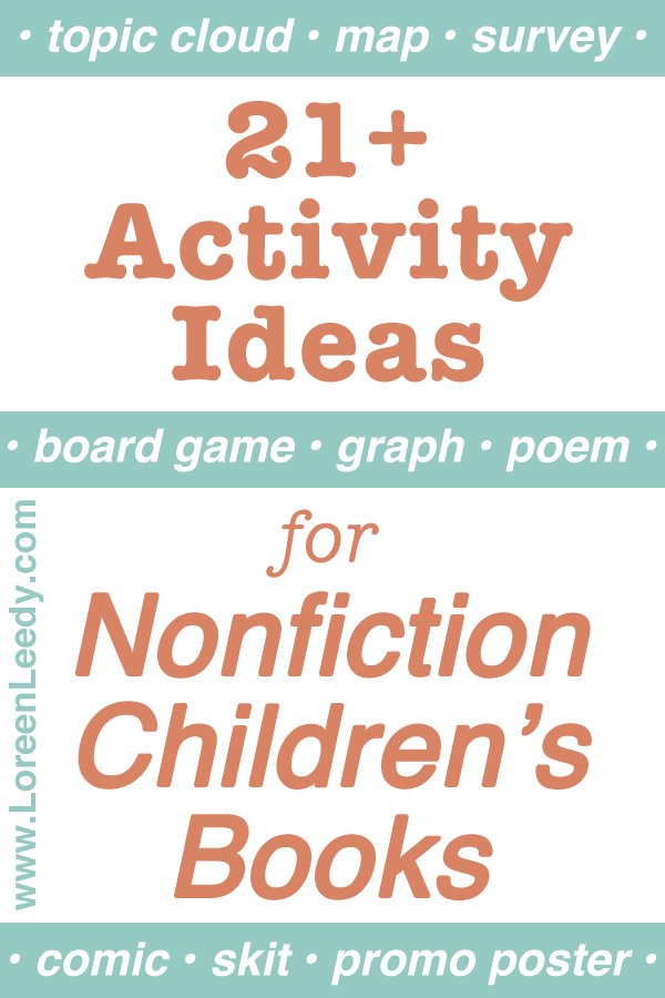 21+ Activity Ideas for Nonfiction Children's Books