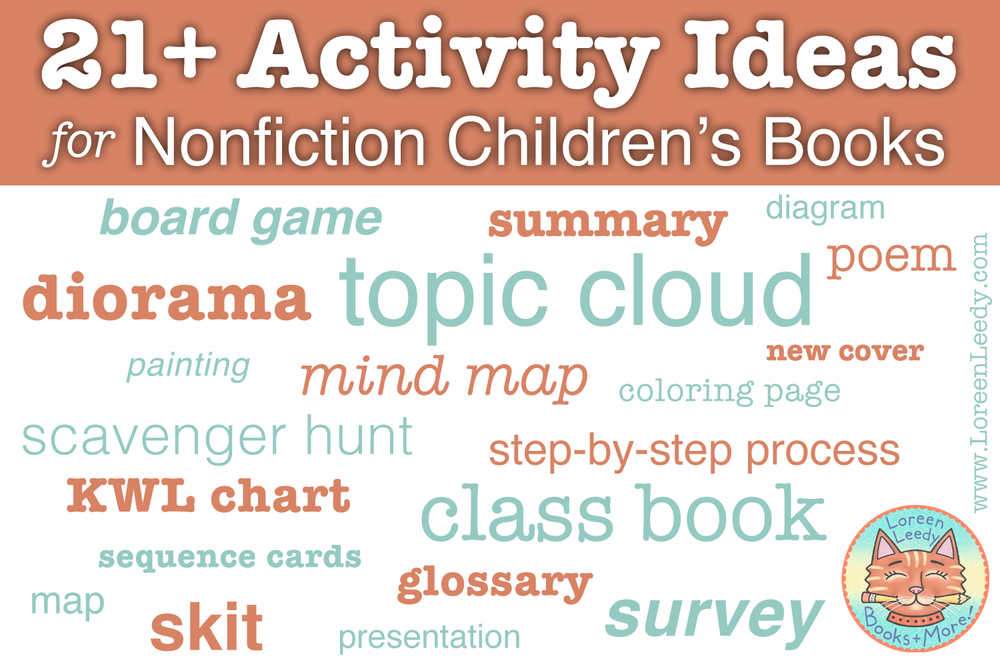Blog post: 21+ activity ideas for nonfiction children's books