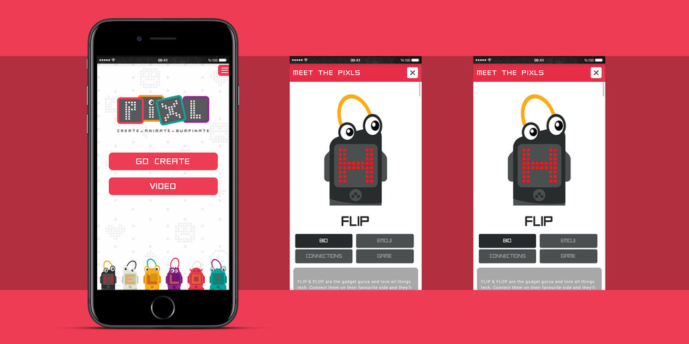 Pixl App Design