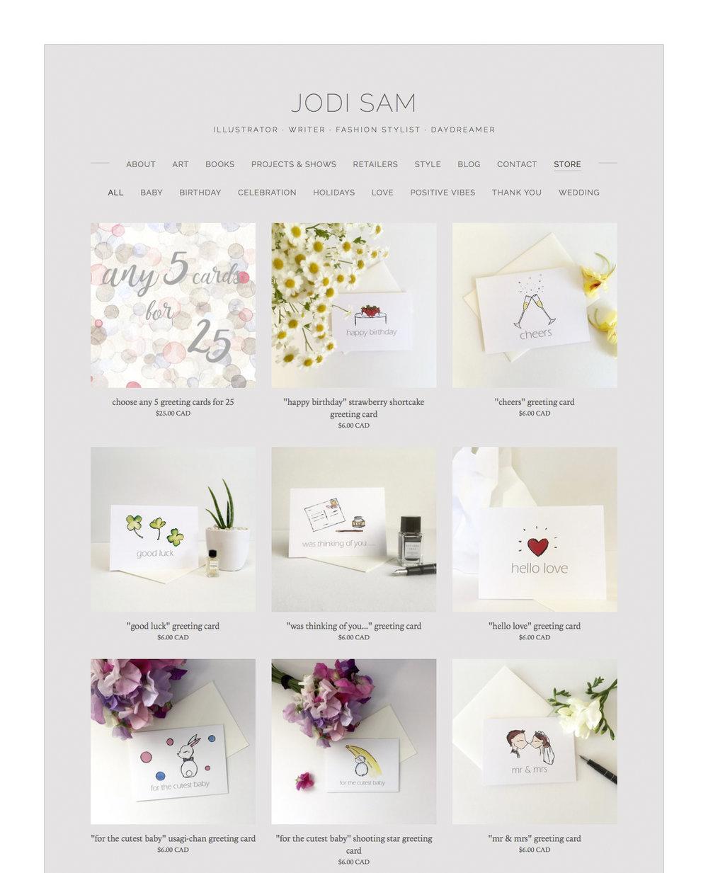 jodisam.com online store