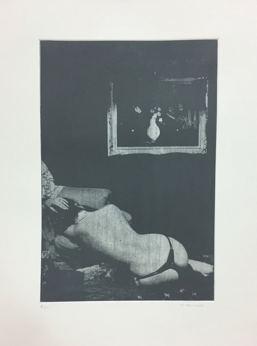La Petit Mort - Photo Etching