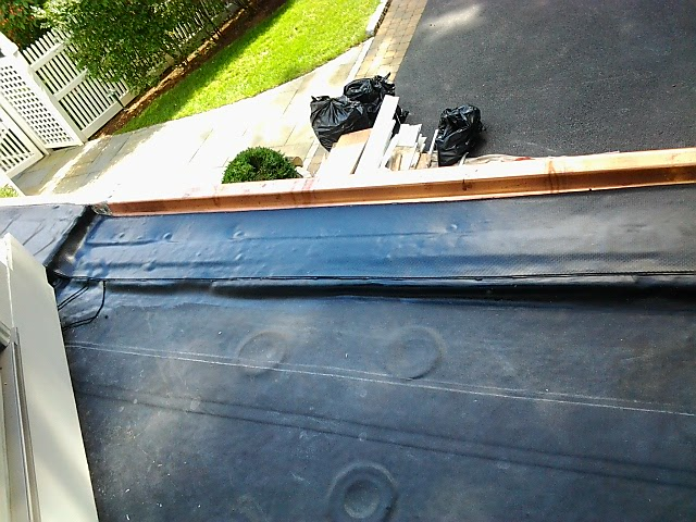 EPDM & Copper Flashing Installation