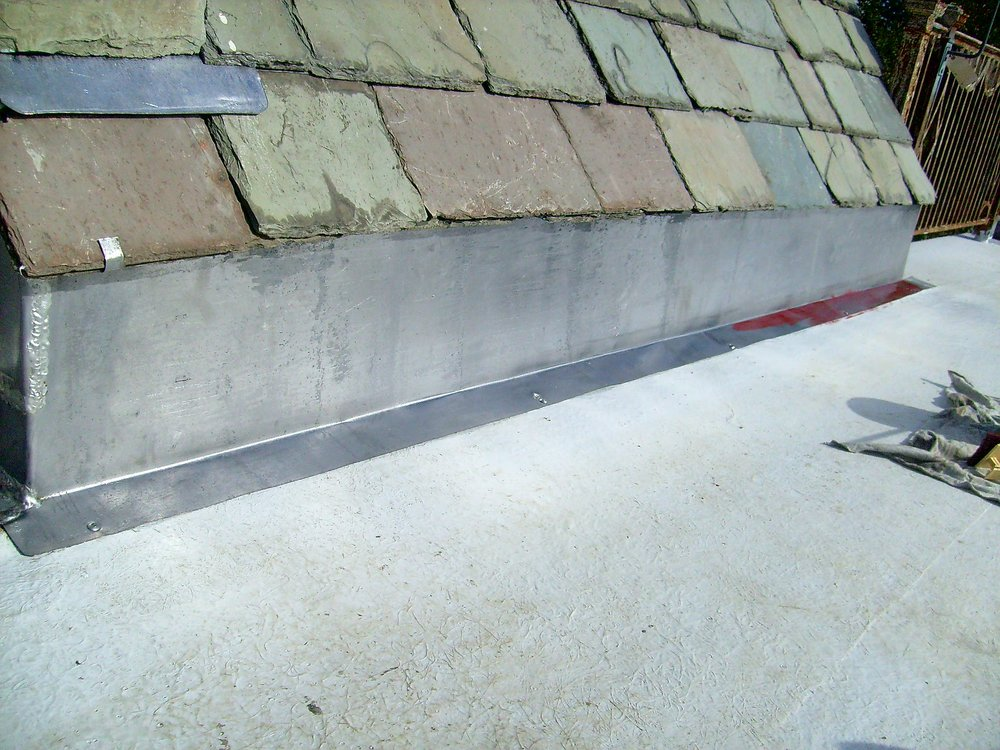 Metal Flashing Installation