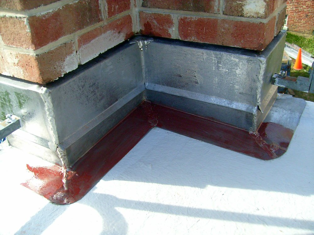 Metal Flashing Base Installation