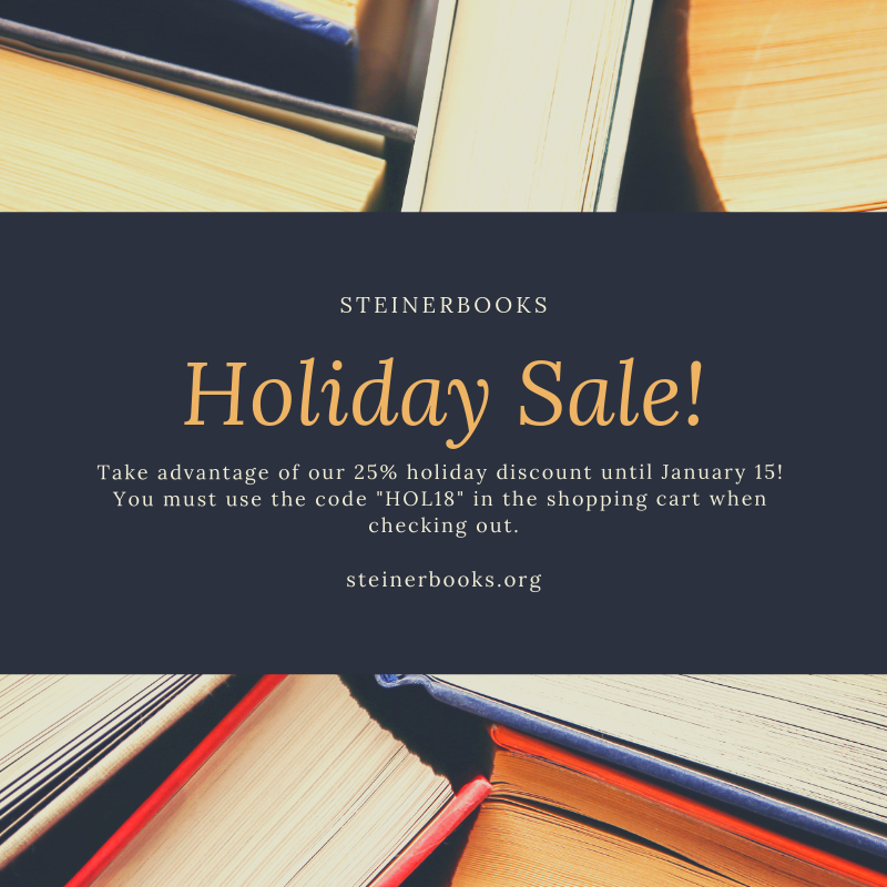STEINERBOOKS HOLIDAY BOOK SALE 2018.png