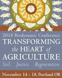 2018 Biodynamic Conference