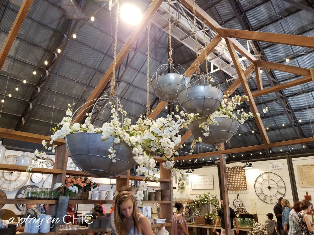 Don't you all think these hanging planters are so unique and dramatic?! Love these!!