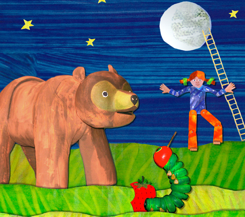 Brown Bear, Brown Bear& Other Treasured Stories - by Eric Carle