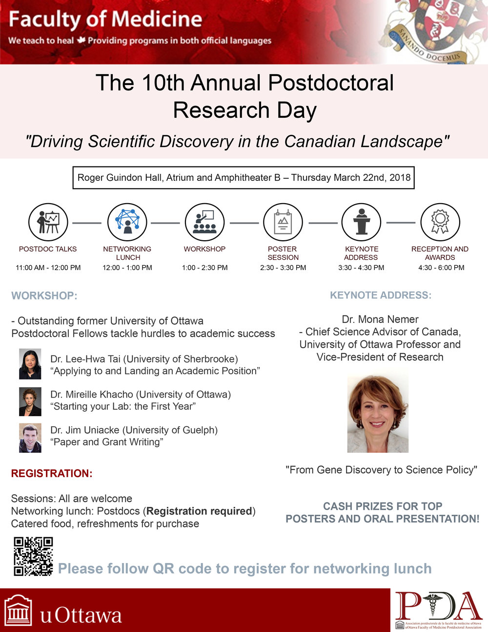 The 10th Annual Postdoctoral Research Day 2018 was a big success! -