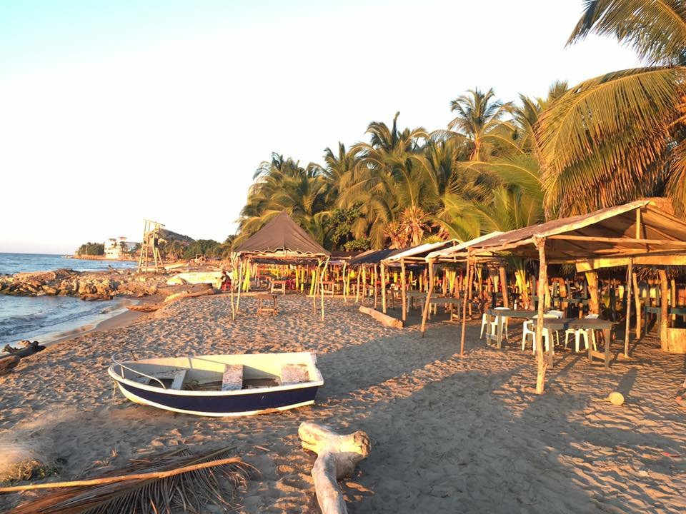 Santa Veronica village beach