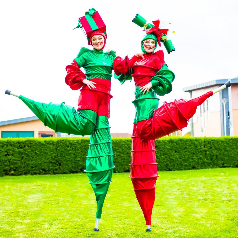 The Christmas Stilt Walkers Kick.jpg
