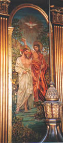 The Baptism of Christ by Frances Railton