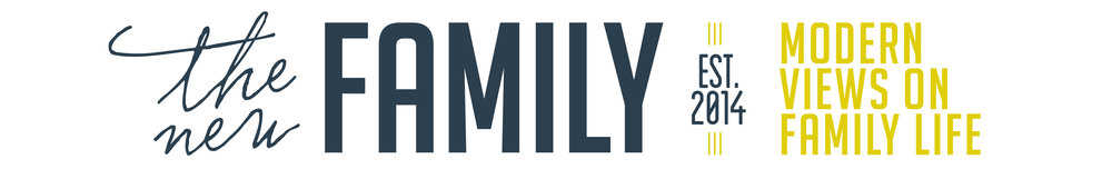 the new family podcast logo