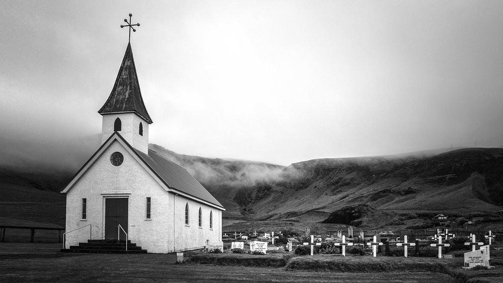 Vik i Myrdal Church, Iceland